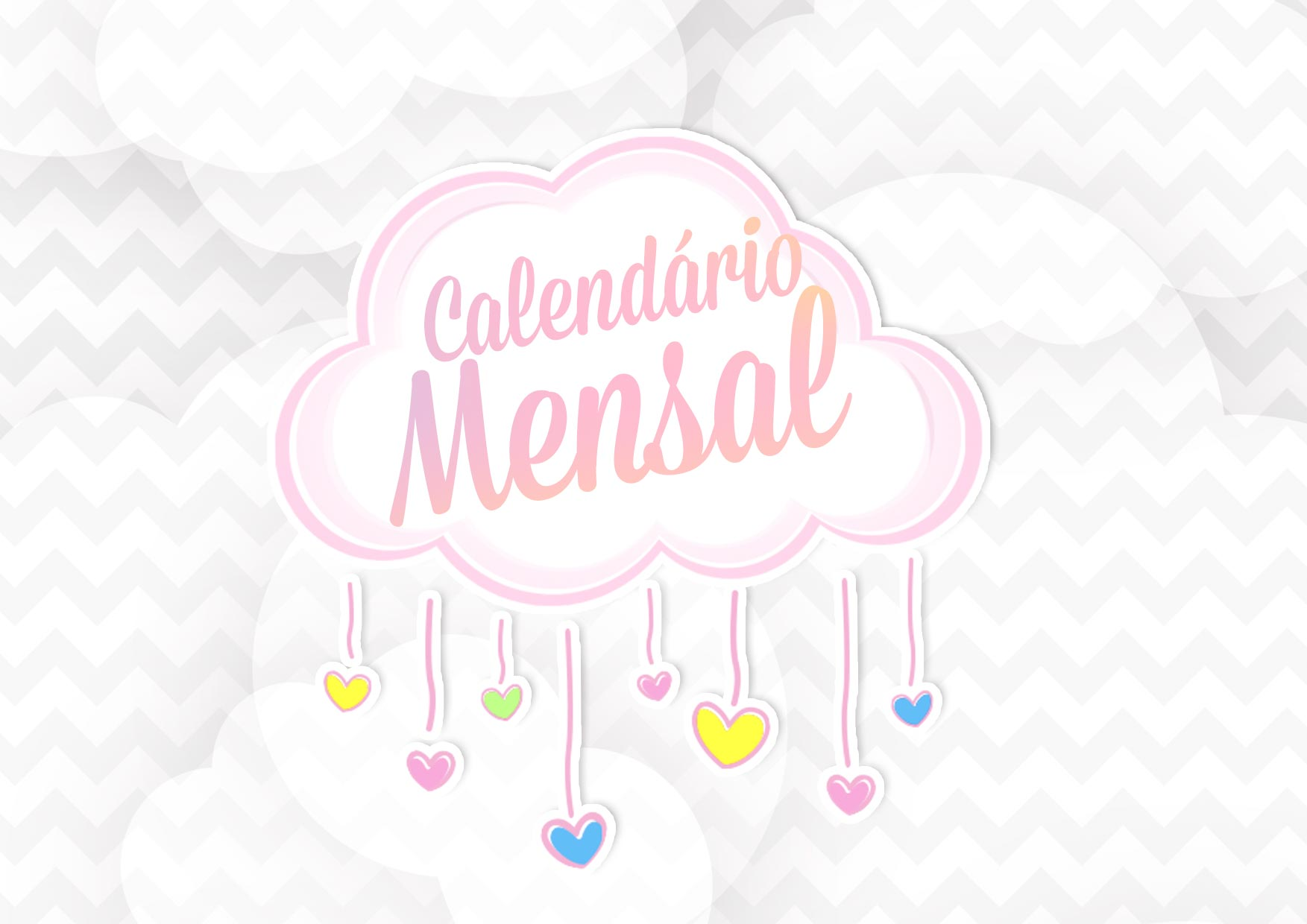 Capa Calendario Mensal Chuva de Amor 2020