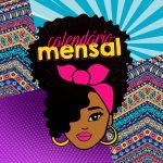 Capa Calendario Mensal Mulher Afro 2020