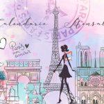 Capa Calendario Mensal Paris 2020