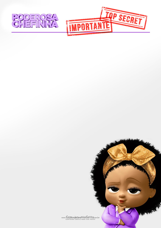 Convite Festa Poderosa Chefinha Afro 4