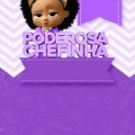 Convite Festa Poderosa Chefinha Afro 5