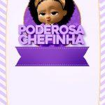 Convite Festa Poderosa Chefinha Afro 6