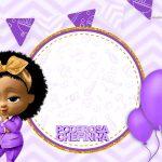 Convite Poderosa Chefinha Afro gratis