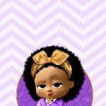 Convite Virtual para celular Poderosa Chefinha Afro
