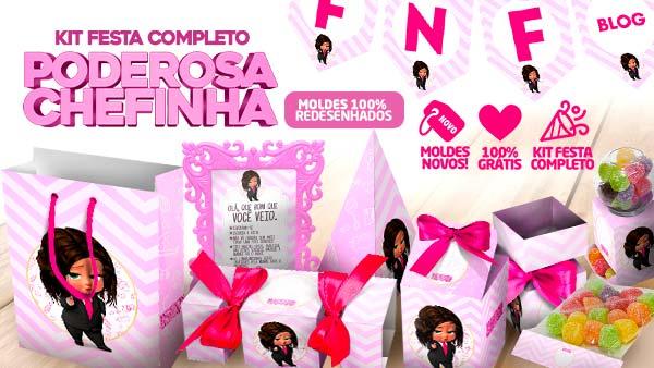 Kit Festa Poderosa Chefinha Morena