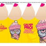 Caixa Lapis Dia do Professor Amarela