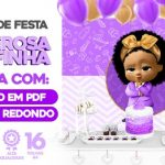 Painel Festa Poderosa Chefinha Afro Gratis