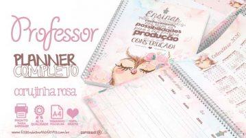 Planner para professores Corujinha