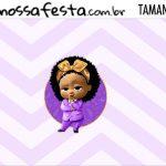 Rotulo Kit Festa Poderosa Chefinha Afro
