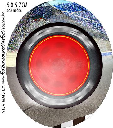 Rotulo Oval Carros 3