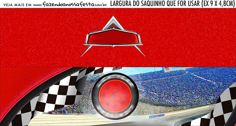 Rotulo Saquinho de Bala Kit Festa Carros 3