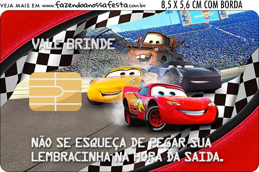 Vale Brinde Kit Festa Carros 3