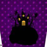 Adesivo Balde de Pipoca Kit Festa Halloween