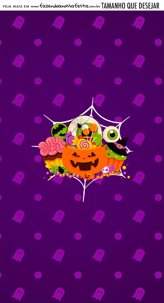 Adesivo Para Imprimir Halloween