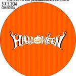Adesivo para latinhas Halloween