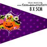 Bandeirinha Sanduiche para imprimir Halloween