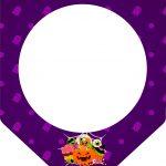 Bandeirinha Varalzinho Halloween