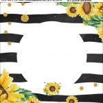 Bandeirola personalizada Girassol