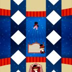 Caixa Bala Kit Festa Circo Menino