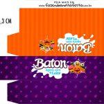 Caixa Baton Kit Festa Halloween