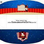 Caixa Mini Cachorro Quente Circo Menino