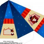 Caixa Piramide Circo Menino
