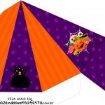 Caixa Piramide Halloween
