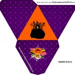 Caixa Piramide Personalizada Halloween