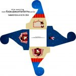 Caixa bombom personalizada Circo Menino