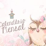 Calendario Mensal Corujinha Capa