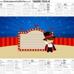 Calendario Personalizado 2019 Circo Menino