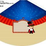 Chapeu de Festa Personalizado Circo Menino