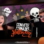 Convite Animado Halloween Gratis