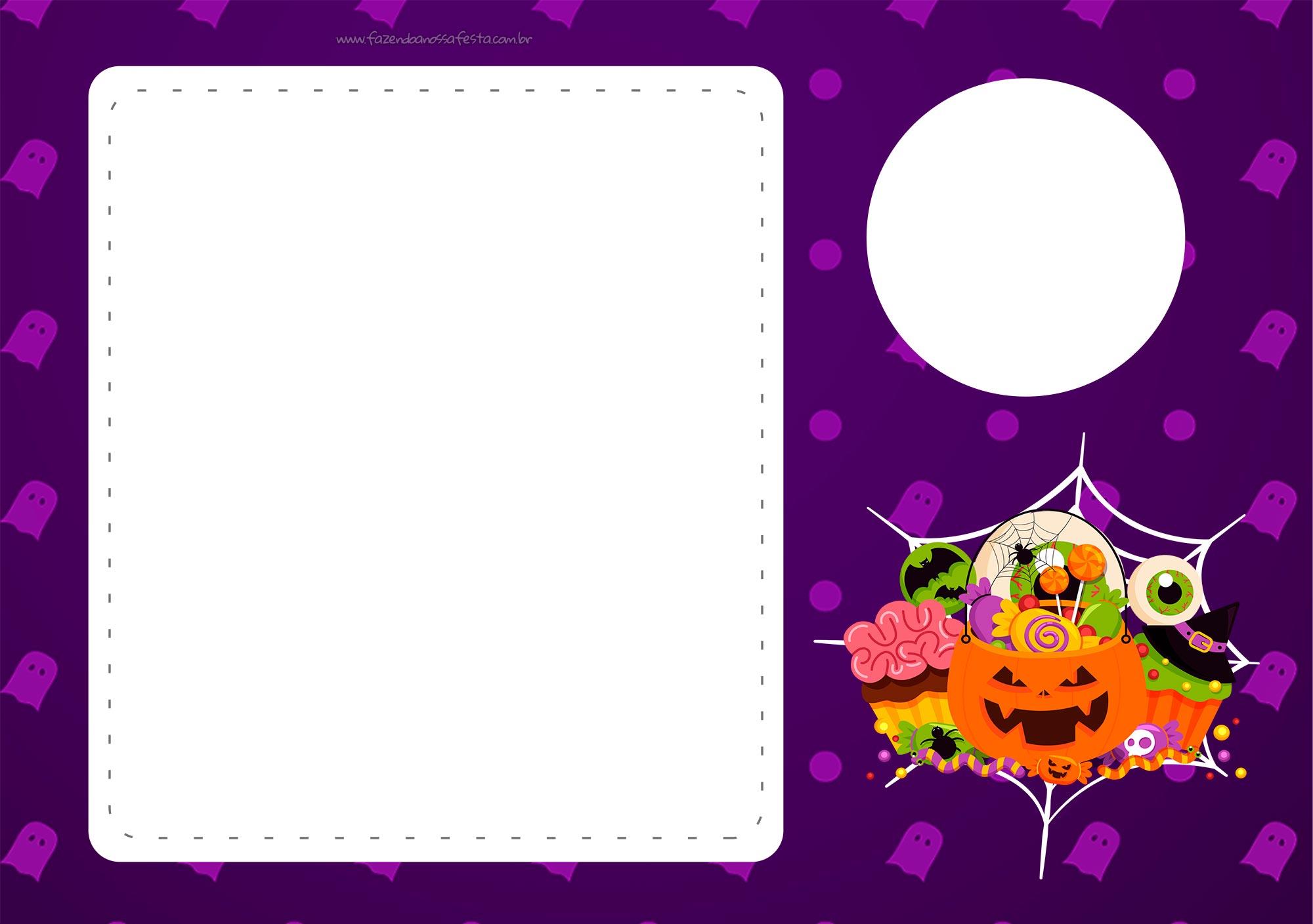 Convite Halloween 3