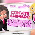 Convite animado Poderosa Chefinha Morena