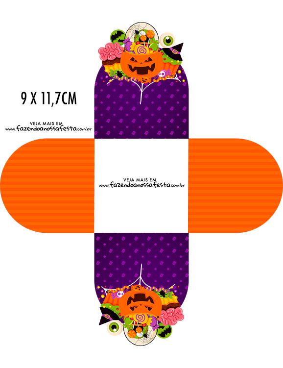 Forminha Brigadeiro 3d Halloween