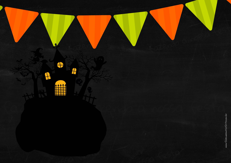 Invitation Halloween 5
