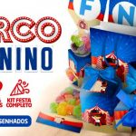 Kit Festa Circo Menino