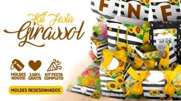 Kit Festa Girassol para Imprimir