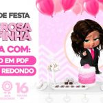 Painel Festa Poderosa Chefinha Morena