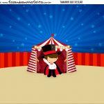Personalizado Circo Menino