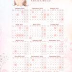 Planner para Professores Calendario 2021 Corujinha