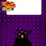 Plaquina de Mesa Triangular Halloween