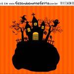 Plaquinha de Comida Halloween