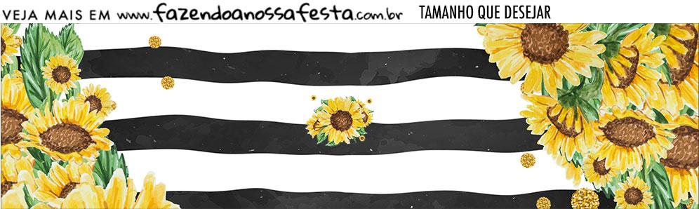 Rotulo Kit Festa Girassol