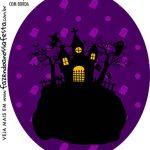 Rotulo Oval Halloween
