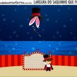 Rotulo Saquinho de Bala Circo Menino