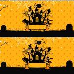 Saia de bolo Halloween Castelo