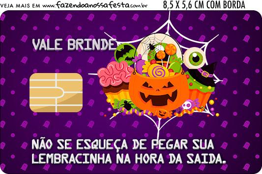 Vale Brinde Halloween