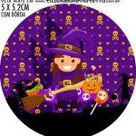 adesivo mini latinha Halloween